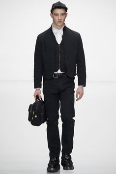 Nasir Mazhar Fall 2016 Menswear Fashion Show