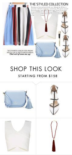 """""""Untitled #73"""" by milenadm ❤ liked on Polyvore featuring Kate Spade, Michael Kors, BCBGMAXAZRIA, Rosantica and Bobbi Brown Cosmetics"""