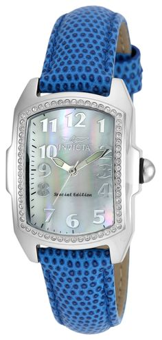 Invicta Lupah Mother of Pearl with Stones