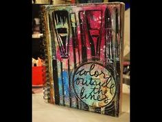Watch as Shawn Petite alters a Journal using book pages and Donna Downey Signature stencils. All supplies will be listed on the blog.