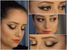Maquiagem de Sexta – Brilho e festa - makeup - party - holidays