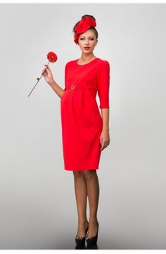 Rochie roșie elegantă