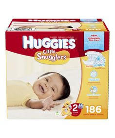 Loving this Size 2 Little Snugglers 186-Ct. Diaper Pack on #zulily! #zulilyfinds
