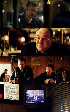 Killing them Softly - scenes from the movie movie featuring Brad Pitt and James Gondolfini #GangsterMovie #GangsterFlick