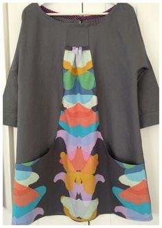 Blusón con bolsas laterales #Singer #original #yolohice #vestido
