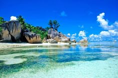 Seychelles or the Republic of Seychelles is an island country in the Indian Ocean.The Seychelles are a group of 115 island, of which only few are inhabited Les Seychelles, Seychelles Islands, Seychelles Africa, Seychelles Beach, Seychelles Vacation, Seychelles Honeymoons, Praslin Seychelles, Vacation Destinations, Dream Vacations