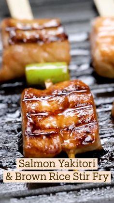 Salmon Recipes, Fish Recipes, Seafood Recipes, Asian Recipes, Fish Dishes, Seafood Dishes, Fun Baking Recipes, Cooking Recipes, Comida Diy