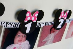 Minnie Mouse Birthday Party First Year by sweetheartpartyshop, $20.00