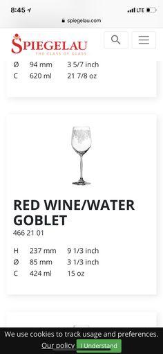 Wine glass from antaz - Spiegelau