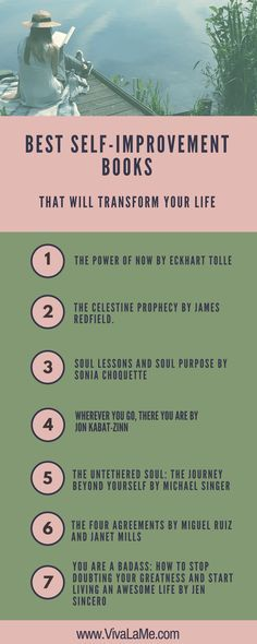 These self-improvement books will transform how you think & improve your life. If you are looking for contentment and happiness, have a look at these books