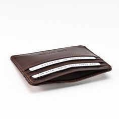 Card Holder, River, Wallet, Leather, Handmade, Rolodex, Hand Made, Purses, Diy Wallet