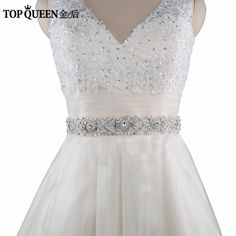 Beautiful Topqueen S71 Free Shipping Wedding Belt Crystal Rhinestone Belt Bridal Sash Wedding Dress Accessories Wedding Belt Crystal Back To Search Resultsweddings & Events