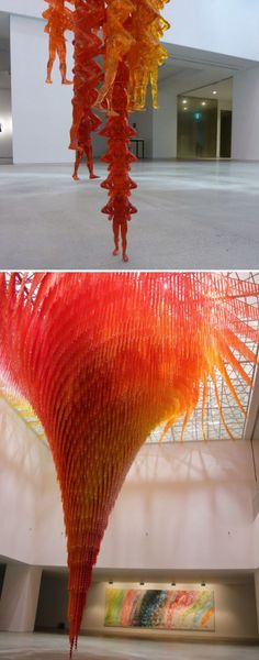 Do Ho Suh: Floor plus Cause & Effect. Wow
