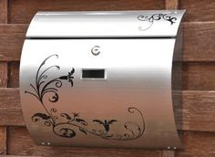 Semi Curve Calico Printing Lockable Mailboxes Stainless Steel Mail Boxes Modern Urban Style - QUALITY IS TOP, ANTI-RUST, STURDY AS REVIEWS FROM CLIENT amoylimai http://www.amazon.com/dp/B00GMZWCJO/ref=cm_sw_r_pi_dp_EV9svb04YMC9Q