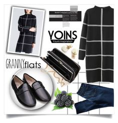 """""""Granny Flats#2"""" by loveyoins ❤ liked on Polyvore featuring Forum, 7 For All Mankind, women's clothing, women, female, woman, misses and juniors"""