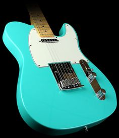 Fender Custom Shop Custom Classic Telecaster C-Neck, Maple Fretboard, Surf Green.......soooo pretty
