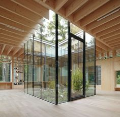 Hamburg nursery designed by Kraus Schonberg Architekten. Photographed by Hagen Stier.