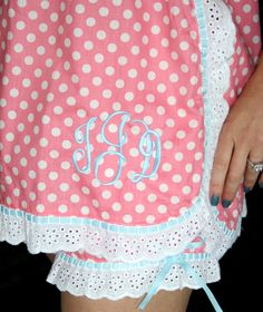Bridal Baby Doll PJ Set Monogrammed with the brides new monogram. Jessie Steele PJ's details to come soon!