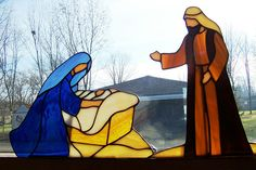 "stained glass nativity patterns | ... Calendar - Day 22 - Theme ""Nativity"" in A Very Flickr Christmas"