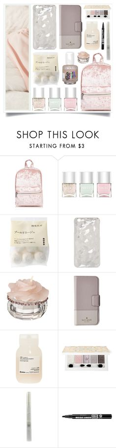 """""""I Loved You Like A..."""" by racanoki ❤ liked on Polyvore featuring Nails Inc., Kate Spade, Davines, Bourjois and RaCaNoKi"""