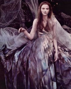 chiffon et ribbons- Amanda Nørgaard wearing Elie Saab Couture S/S 2010