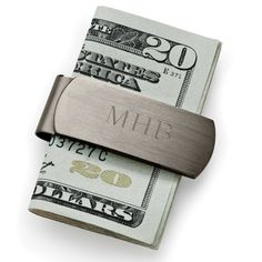 In the world of men& fashion, gunmetal is nothing less than a mega-trend. The lustrous stainless steel money clip won& tarnish or show fingerprints. Gifts For Wedding Party, Party Gifts, Our Wedding, Dream Wedding, Spring Wedding, Wedding Places, Groom And Groomsmen, Groomsman Gifts, Wedding Inspiration