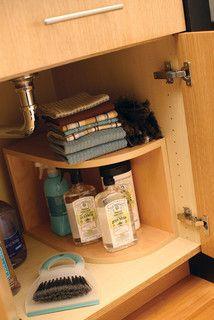 Storage Solutions for bathroom or kitchen sink