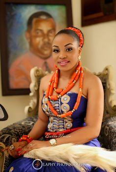 Ihuoma & Chukwuka Igbo Traditional Wedding in Mbaise, Imo State, Nigeria_BellaNaija Weddings Nigerian Independence, Africa Rocks, Igbo Bride, Bellanaija Weddings, African Weddings, Wedding 2015, Traditional Wedding, African Fashion, My Design