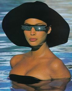 Christy Turlington in the 80's