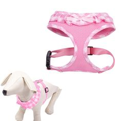 Checkered Frills Fashion Pet Dog Cat Harness Adjustable >>> Wow! I love this. Check it out now! : Leashes for dogs