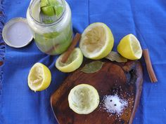 besos de canela y menta: Limones en conserva marroquíes
