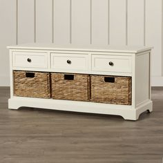 You'll love the McKinley 3 Drawer Storage Entryway Bench at Wayfair - Great Deals on all Furniture products with Free Shipping on most stuff, even the big stuff.