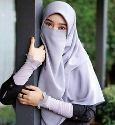 Hijab Chic, Hijab Musulman, Beau Hijab, Muslim Hijab, Muslim Dress, Hijab Dpz, Muslimah Wedding Dress, Hijab Style Dress, Casual Hijab Outfit
