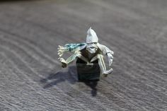 Origami Money Dwarf