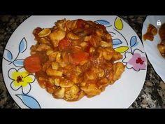 Pollo con almendras al estilo chino - Monsieur Cuisine Plus - YouTube Lidl, Macaroni And Cheese, Waffles, Chicken Recipes, Breakfast, Ethnic Recipes, Youtube, Silver, Food