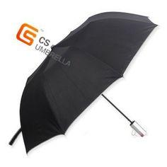 two fold golf umbrella auto open