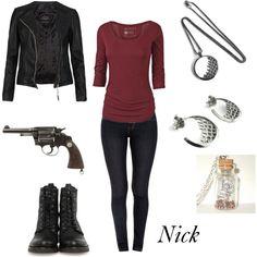 """""""Nick Burkhardt"""" by winterlake25 on Polyvore"""