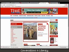 Time For Kids:  a great collection of nonfiction articles for students.