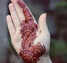 35 Latest Arabic Mehndi Designs - From Simple To Grand – Lifestyle Latest Arabic Mehndi Designs, Simple Arabic Mehndi, Latest Bridal Mehndi Designs, Simple Henna Tattoo, Mehndi Designs 2018, Mehndi Designs For Girls, Modern Mehndi Designs, Mehndi Design Pictures, Wedding Mehndi Designs