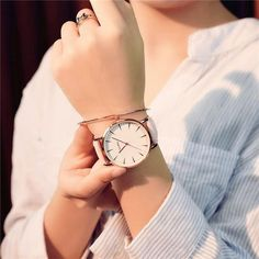 Fashion Quartz Watch Women Watches Ladies Brand Famous Wrist Watch Female Clock For Women Hodinky Montre Femme Relogio Feminino Stylish Watches, Casual Watches, Luxury Watches, Skechers, Swiss Army Watches, Mesh Band, Ootd, Beautiful Watches, Fashion Watches