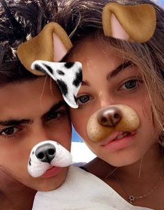 Thylane Blondeau and Zacc