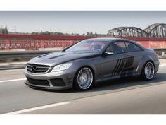 """2012 Prior Design Mercedes CL 500 """"Black Edition V2"""" (C216) #mercedes #tuning #cl500"""