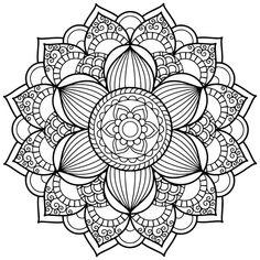ԑ̮̑♦️̮̑ɜ~Mandala para Colorear~ԑ̮̑♦️̮̑ɜ                                                                                                                                                                                 Más