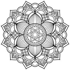 Mandala Art Coloring Pages   1000+ Ideas About Mandala Coloring Pages On Pinterest   Mandala ...