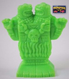 Monster in my Pocket - Series 1 - 16 Coatlicue - Neon Green NG Mini Figure MEG 1970s Toys, My Pocket, Classic Toys, Figs, Old Toys, Neon Green, Childhood Memories, Monsters, Action Figures