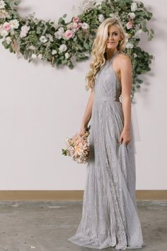 Who knew layers of lace and tulle could look this amazing? We're head over heels for our new halter maxi dress that was inspired by the most romantic and feminine gowns we could find! The flattering f