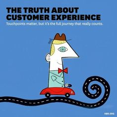 The truth about Customer Experience Customer Experience, Snoopy, Fictional Characters, September, Journey, The Journey, Fantasy Characters