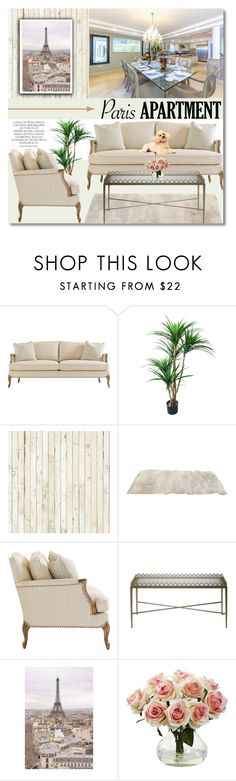 """""""Paris Apartment"""" by anilovic ❤ liked on Polyvore featuring interior, interiors, interior design, home, home decor, interior decorating, Magdalena, TradeMark, NLXL and WALL"""