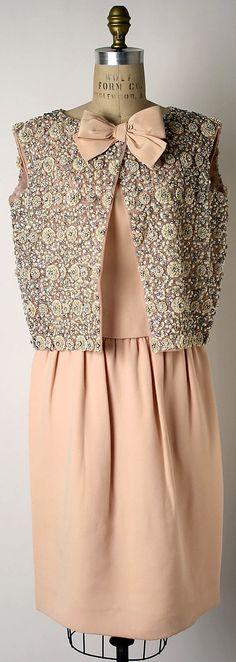 """Eglantine""  House of Dior  (French, founded 1947)  Designer: Yves Saint Laurent (  ) Date: fall/winter 1960–61"