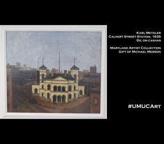 Part of the Maryland Artists Collection, this #UMUCArt piece can be seen at UMUC's Adelphi campus.